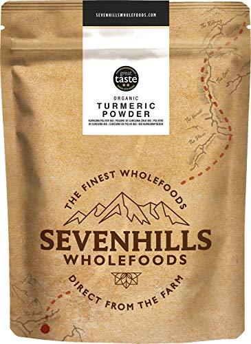 Sevenhills Wholefoods Kurkuma Pulver Bio 1kg