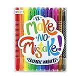 OOLY Make No Mistake Erasable Markers, Set of 12...