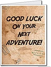 VictoryStore Jumbo Greeting Cards: Giant New Career Card Good Luck On Your Next Adventure You Will Be Missed 2' x 3' Card with Envelope