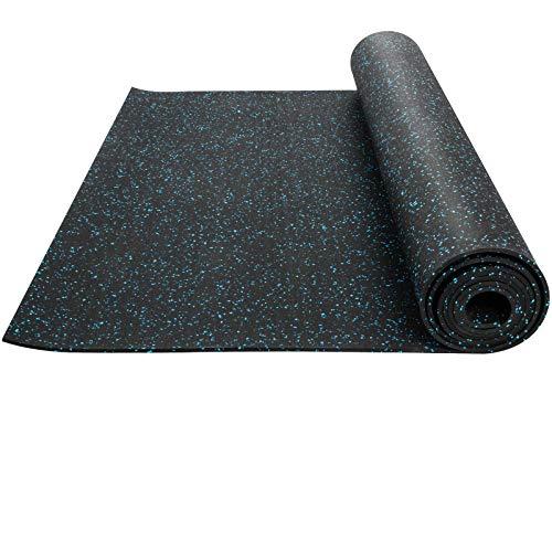 Husuper Suelo para Gimnasio PVC Equipo Alfombrilla de Suelo 9.5mm Pavimento de...