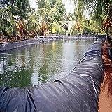 LJIANW PVC Teichfolie, Teichfolie Gartenpools Membran Fischteichbett Undurchlässiger Film Zum Verstärkt Landschaftsbau Reservoir Fluss, 62Größen (Color : 0.6mm, Size : 6x8m)