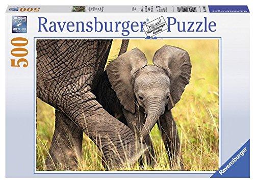 Ravensburger Cucciolo di Elefante - Puzzle 500 Pezzi