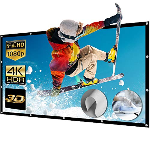 Projector Screen 300 Inch £149.31 at Amazon