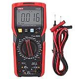 UNI-T UT89X / UT89XD NVC Medidor Digital de Voltaje Probador con Pruebas de Temperatura (Rojo y Gris)(UT89XD)