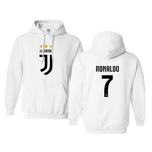 CR7 Soccer Hoodie Cristiano Ronaldo Sweatshirt for Boys Custom Printing New