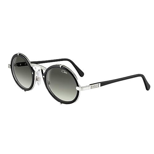 40fd9ee3124d Cazal 644 011SG Matte Black Silver Frame Grey Gradient Lens Sunglasses 53 mm