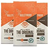 The Original Whole Bean Coffee, Medium Roast, 3 Pack - 12 Oz, Bulletproof Keto 100% Arabica Coffee, Organic, Certified Clean Coffee, Rainforest Alliance, Sourced from Guatemala, Colombia & Brazil