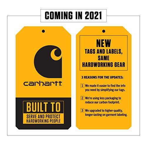Carhartt Men's 100 Percent Cotton Adjustable Duck Nail Apron,Black,X-Large