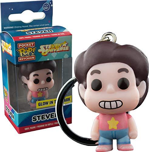 Funko - Porte Clé Steven Universe - Steven Glow In The Dark Exclu Pocket Pop 4cm - 0849803094324