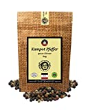 Uncle Spice bunter Kampot Pfeffer - 60g Kampot Pfeffer bunt - Premiumqualität - ganze sonnengetrocknete Pfefferbeeren, rote, weiße, schwarze Pfefferkörner ganz, handverlesen für die Mühle