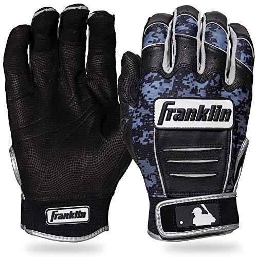 Franklin Sports MLB CFX Pro Digi Series Gants de Baseball, CFX Pro Digi Series, Noir/Noir