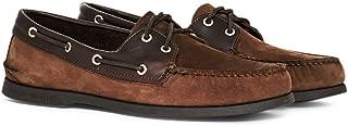 Men's Authentic Original 2-Eye Boat Shoe (9, Brown/BUC Brown)