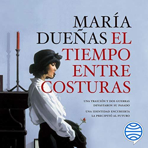 Diseño de la portada del título El tiempo entre costuras