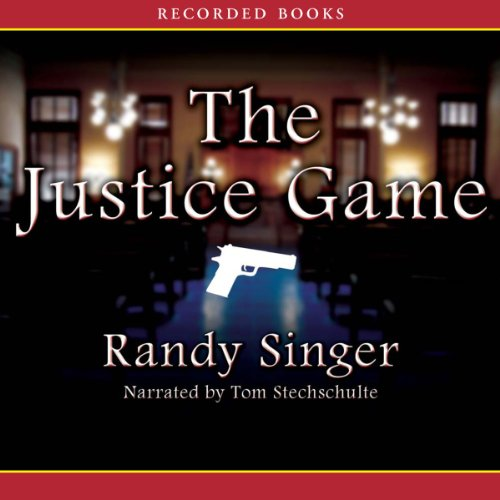 The Justice Game audiobook cover art