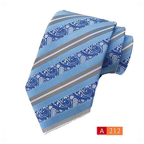 ERSD Krawatten Jacquard Krawatte Business Lässig Mit Krawatte (Farbe : A212)