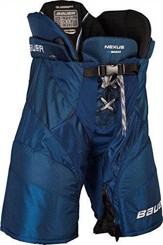 Bauer Nexus N9000 Eishockeyhose Hockey Hose Senior Gr. L royal Blau