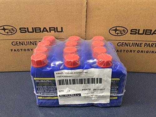 SUBARU Genuine Cooling System Conditioner Coolant Head Gasket 12 Pack Case SOA635071