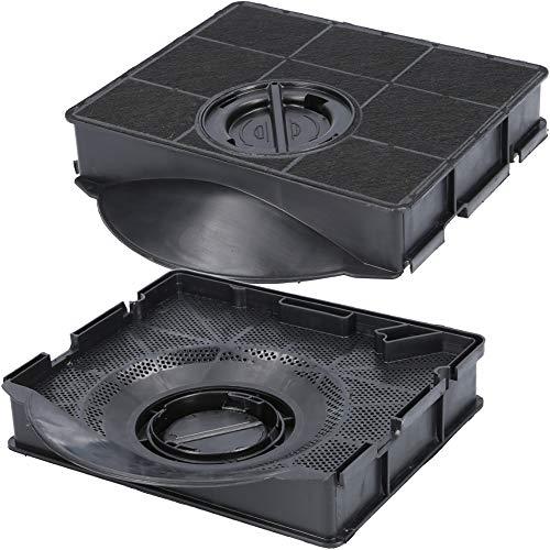 Aktivkohlefilter für Dunstabzugshaube geeignet als Alternative für Kohlefilter 484000008581, für Dunstabzug von Bauknecht, Whirlpool, uvm. - 2 Stück