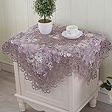 Europäische Tischdecke Runde Tischdecke Tischtuch Tee Tischdecke Nachttisch Cover Tischläufer Kühlschrank-handtuch-B 40x220cm(16x87inch)