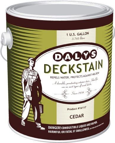 Daly's DeckStain Alkyd Based Wood Manufacturer OFFicial shop Cedar Stain Gallon Deck New sales