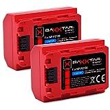 Baxxtar Pro (2X) Batería NP-FZ100 (generación IV - 2250mAh) - Compatible con Sony Alpha 7c 7R IV etc.