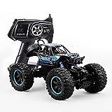 CUIGANGZ Coche RC, 4WD Drift Remote Control Toy Toy 1/14 Modelo Off-Road RC Vehículo Todo Terreno Escalada RC Buggy Recargable Monstruo Bigfoot RC Regalos de Camiones for niños Mayores de 4 años.