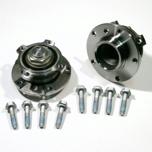 2 x Radnabe / 2 x Radlagersatz + Schrauben für vorne/für die Vorderachse