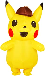 Inflatable Costume Yellow Mascots Halloween Costume for Kid/Adult