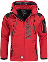 Geographical Norway Men's Softshell Jacket - Techno red - S
