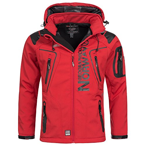Geographical Norway Techno - Chaqueta softshell para hombre