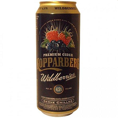 Kopparberg Sidra Wildberries -500 ml (pack de 24 latas