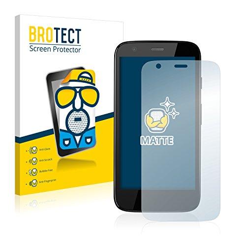 BROTECT 2X Entspiegelungs-Schutzfolie kompatibel mit Motorola Moto G XT1039, XT1040, XT1045 Displayschutz-Folie Matt, Anti-Reflex, Anti-Fingerprint