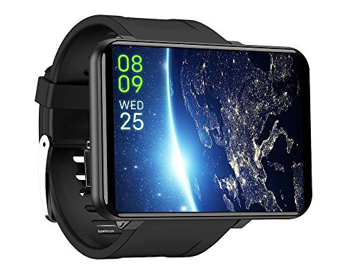 """ISPEKTRUM iS100 Android 7.1 Smart Watch,2.86"""" Screen, 5MP Camera,3GB+32GB, 2880 mAh Battery, Waterproof, 4G/LTE Call Network Support, GPS,WiFi,Fitness Tracker,Pedometer,BT Call Notification."""