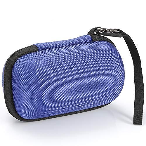 Estuche rígido para Sony SRS-XB10 / Sony SRS-XB12 Altavoz inalámbrico portátil Compacto, Bolsa de Viaje - Negro (Forro Negro)
