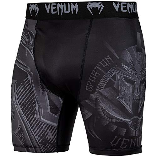Venum Gladiator 3.0 Vale Tudo Shorts - Black/Black-XXL, Black/Black, XX-Large