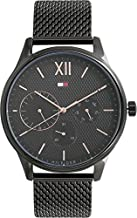 Tommy Hilfiger Analog Black Dial Men's Watch - TH1791420