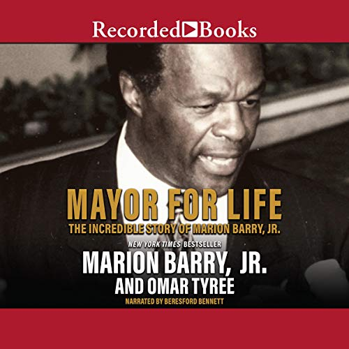 Mayor for Life audiobook cover art