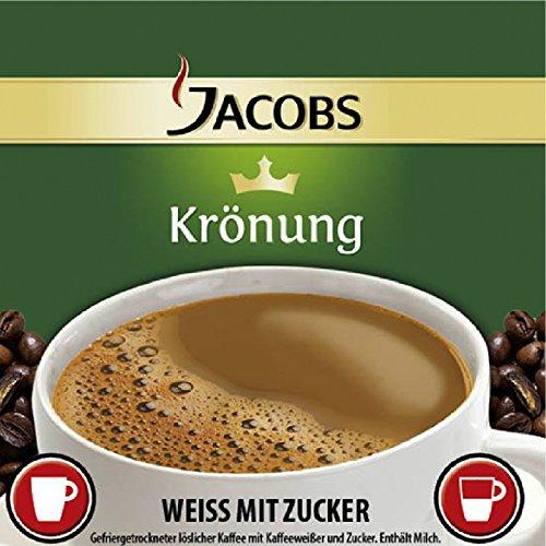 Jacobs Incup Kaffee - Weiß - Zucker 300 Automatenbecher