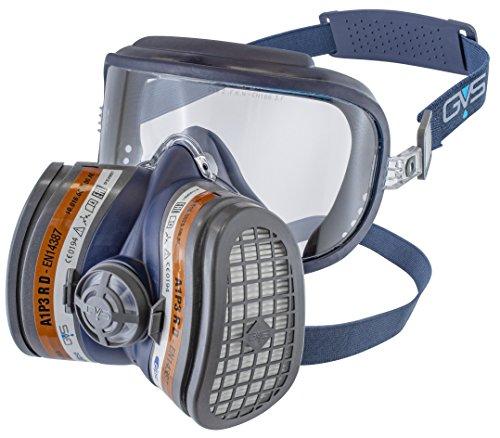 GVS SPR401 Elipse Integra Maske mit A1P3 Filter gegen organische Gase und Stäube, M/L