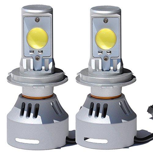 『LEDヘッドライト H4 HI/LO 7000K 6400ルーメン H05 CREEチップ 両面 LEDバルブ オリジナル』の1枚目の画像