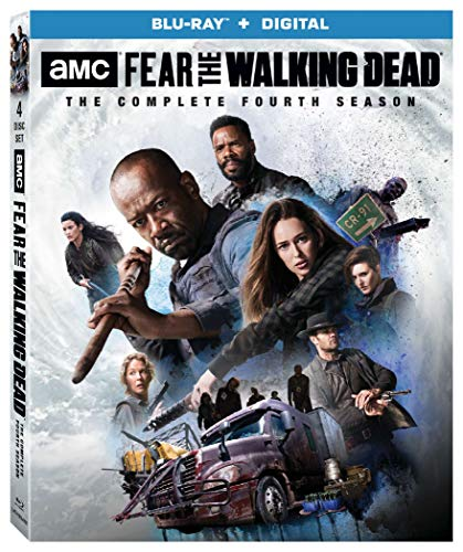 Fear The Walking Dead (ssn 4) [Blu-ray]
