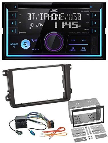 caraudio24 JVC KW-R920BT Bluetooth 2DIN AUX CD MP3 USB Autoradio für VW Caddy Golf 5 6 Jetta ab 2003