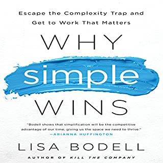 Why Simple Wins audiobook cover art