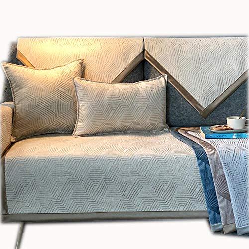 Amosiwallart Funda de sofá de Colores Universal Antideslizante para Todas Las Estaciones (Cubre Todos los sofás)