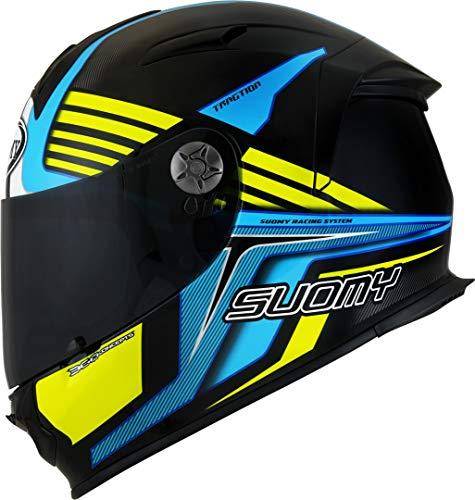 Suomy SR-Sport Attraction Helm Schwarz/Blau S