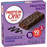 Protein One, Chocolate Fudge Protein Bars, 12 Count (Pack of 1)