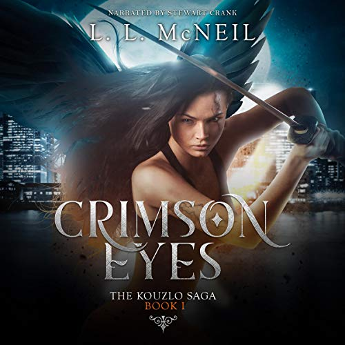 Crimson Eyes audiobook cover art