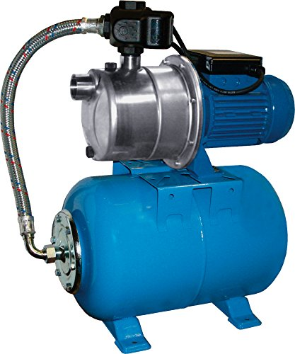 Nowax Hauswasserwerk, Stahl, Blau, 57 x 34 x 55 cm