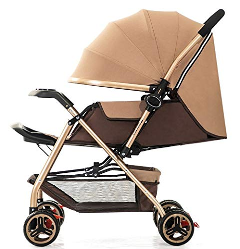 Lowest Price! ZOUJUN Baby Stroller Foldable,All in 1 Infant Baby Stroller Toddler Pushchair Baby P...