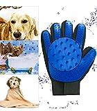 Woda Pet Grooming True Touch Five Finger Gentle Deshedding Brush Glove Dog/Cat Hair Remover
